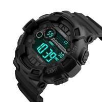 SKMEI Men's Army Military Waterproof Sport LED Quartz Analog Digital Wrist Watch