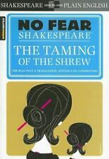 No Fear Shakespeare Ser.: The Taming of the Shrew by SparkNotes Staff and William Shakespeare (2004, Perfect)