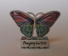 v Praying for you BUTTERFLY BLESSINGS FIGURINE ganz sympathy loss of loved one