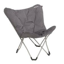 Outwell Seneca Lake Grey Chair - Luxury Camping Chair - RRP £54.99