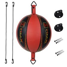 HMX Double End Speed Ball Boxing Bag MMA Floor To Ceiling Rope Training Punching