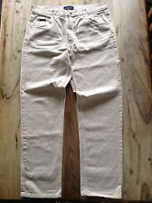 LTD ED' VALENTINO JEANS W38 L34 RRP £325 MADE IN ITALY 80's CASUALS