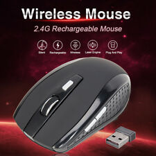 2.4G Portable Wireless Mouse Mice with USB for Nano Receiver PC laptop Tablet