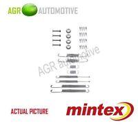 MINTEX REAR BRAKE SHOES SET FITTING KIT PIN SPRINGS GENUINE QUALITY - MBA598
