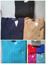 Cashmere Patternless Crew Neck Jumpers & Cardigans for Women