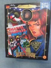 "Black Widow Famous Covers 8"" Cloth Costume Figure Avengers"