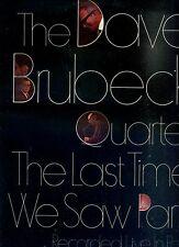 DAVE BRUBECK QUARTET the last time in paris - recorded live HOLLAND 1968 EX LP