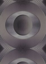 Tapeten One Seven Five Vliestapete 5803-37 580337 Kreise anthrazit metallic (4,1