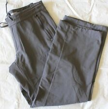 WOMENS gray track running PANTS = NIKE ACG all conditions gear = SIZE 4 = ME97