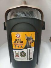Dog Pet Pooper Scooper Swivel Bin & Rake