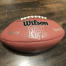 Wilson Nfl Mvp Football Ball Junior Youth Tackified Wtf1414 Preowned Great Price