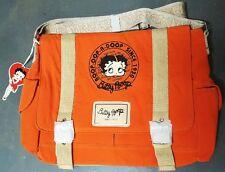 New BETTY BOOP Licensed Messenger Bag (Orange color) U.S. Seller