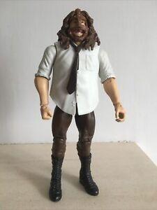 WWE LOOSE MASKED MANKIND MICK FOLEY MATTEL BASIC 45 WRESTLING FIGURE