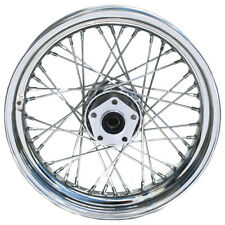 "New Chrome 16"" X 3.5"" 40 Spoke Rear Wheel Rim Harley Softail Dyna Sportster FXR"
