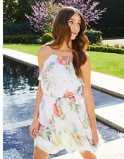 Forever New Beautiful SUMMER Floral Halter Party Dress Size 16, RRP $159. RARE!