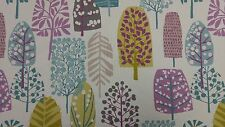 Clarke and Clarke Trad Heather Olive Designer Curtain Upholstery Craft Fabric