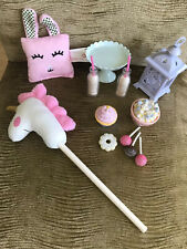 OUR GENERATION DOLL UNICORN SLEEPOVER ACCESSORIE SET
