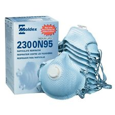 MOLDEX 2300 N95 DUST MASK RESPIRATORS * BOX OF 10* NEW LOW PRICE!
