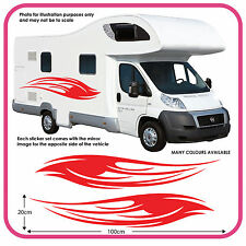 camping-car VINYL graphique autocollants camping-car RV Caravane BOX mh1d