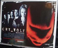 Cinema Poster: CRY WOLF 2005 (Quad) Jon Bon Jovi