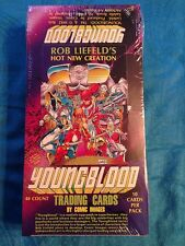 Comic Images Rob Liefeld's Youngblood Trading Cards Factory 1992