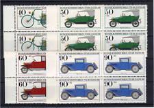 Berlin 660/63 postfrische Viererblöcke / Oldtimer