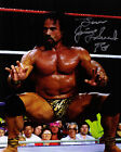 TNA WWE WCW ECW Jimmy Jimmie Superfly Super Fly Snuka signed auto 8 x by 10 coa