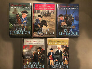 RUSH REVERE Complete Hardcover Set Collection - Rush Limbaugh - BRAND NEW