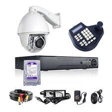 Auto Tracking Sony High Speed PTZ Dome CCTV Cameras+ Keyboard Control+DVR 1TB