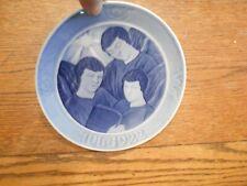 """1922 Royal Copenhagen Denmark Porcelain Christmas Plate """"Jul 1922 Angels 960"""