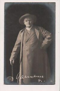 Carte Postale Vintage Fredrik Garmann Norvégien Acteur H. Abel Photo 1903