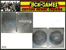 CAJA METALICA EXCLUSIVA UNCHARTED 4 JUEGO PS4