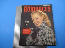 Personal Romances October 1949 As Long As I Have You Easy To Win Coat  M1225