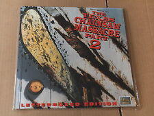 TEXAS CHAINSAW MASSACRE PART 2 LASERDISC (NTSC, VG+/EX- Condition)