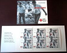 Faroe Stamp Booklet #24 2001 Red Cross 6,00 kr - Complete - Mnh - Excelle 00004000 nt!