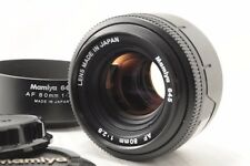 Near Mint Mamiya AF 80mm f/2.8 for 645 from japan #693
