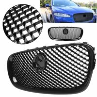 Gloss Black Upper Grille Radiator Grill For Jaguar XF 2008 2009 2010 2011