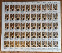 Berlin 551 postfrisch kompl. Bogen Kunstausstellung Berlin Full sheet MNH FN 2