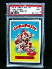 GARBAGE PAIL KIDS 1985 2nd Series 74b Kennel Kenny - GLOSSY OS2 Grade PSA 9 MINT