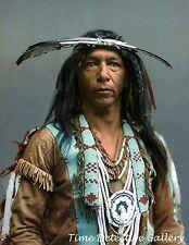 Native American Arrow Maker Ojibwa - 1903 - Historic Photo Print