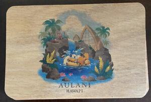 "NWT Disney Aulani Resort Koa Wood 4""x6"" Postcard"