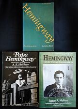 Lot Of 3 Hemingway Books Papa Hemingway Ecstasy Sorrow Life Without Consequences