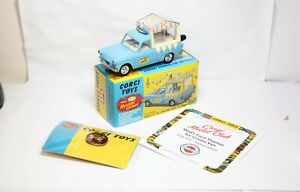 Corgi 474 Walls Ice Cream Van - New Mint In Box Musical Ford Thames