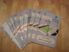 Aston Villa Home Team Football Programme Collections/Bulk Lots