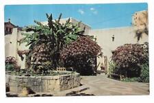 Vintage Texas Chrome Postcard San Antonio Spanish Governor's Palace