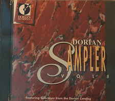 Rare Dorian Collection Vol 2 90002 DDD 16 Tracks CD Sealed USA 1989 Classical