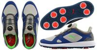 Puma Golf Ignite PWR Adapt Disc BOA Golf Shoes - RRP£120 - ALL SIZES - Grey Blue