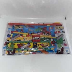 Lego 5005969 Back to School Pack Set! Ruler Notebook Pencil Eraser Stickers NEW