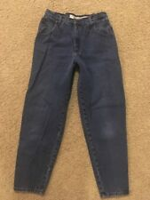 Vintage Zena Jeans Size 14 High Waisted Womens Mom Jeans 80's 90's Tapered Leg
