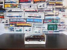 Wiking Auto-& Verkehrsmodelle mit Werbemodell für Mercedes